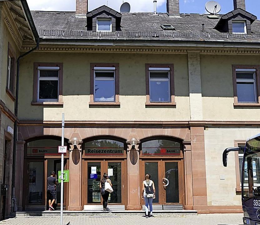 Der Bahnhof wird zur Mobilitätszentrale: Zuschuss 200000 Euro.    Foto: Ingrid Böhm-Jacob