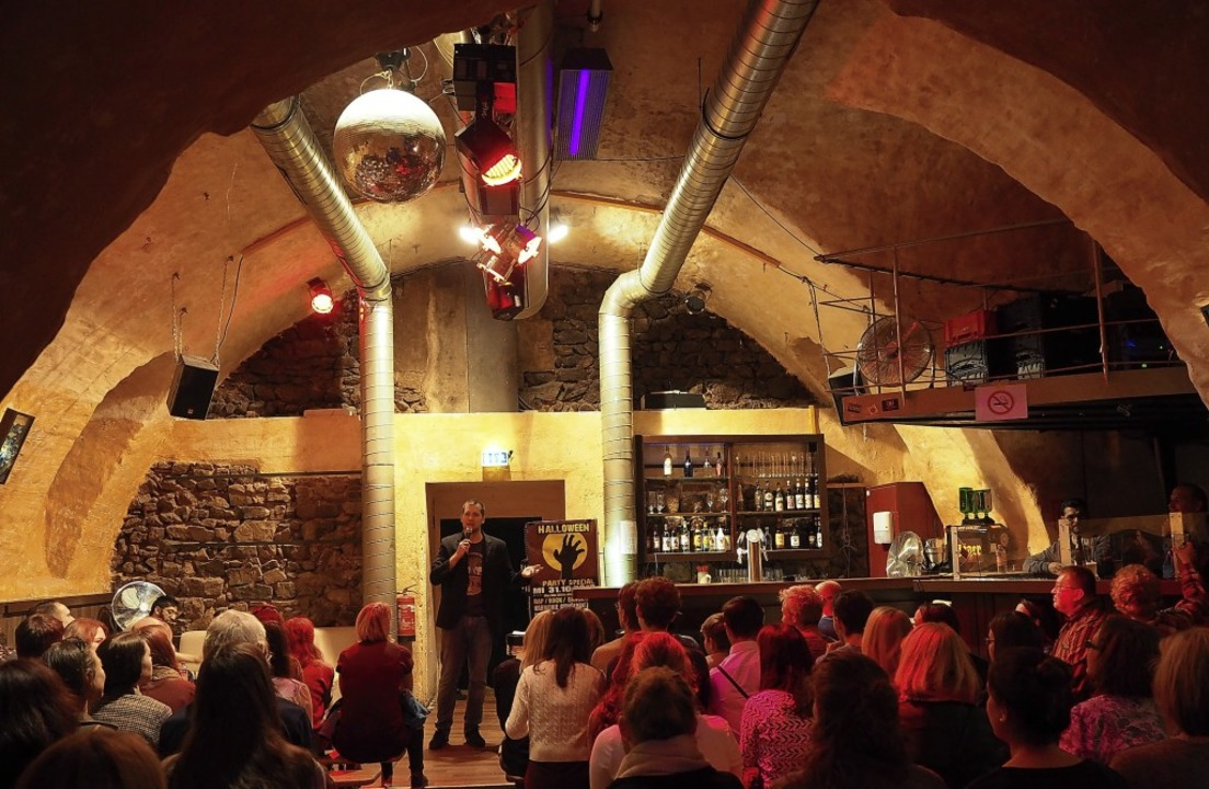 Julian Limberger will den Harmonie-Gew...burg als Bühne für Comedy  etablieren.    Foto: Privat