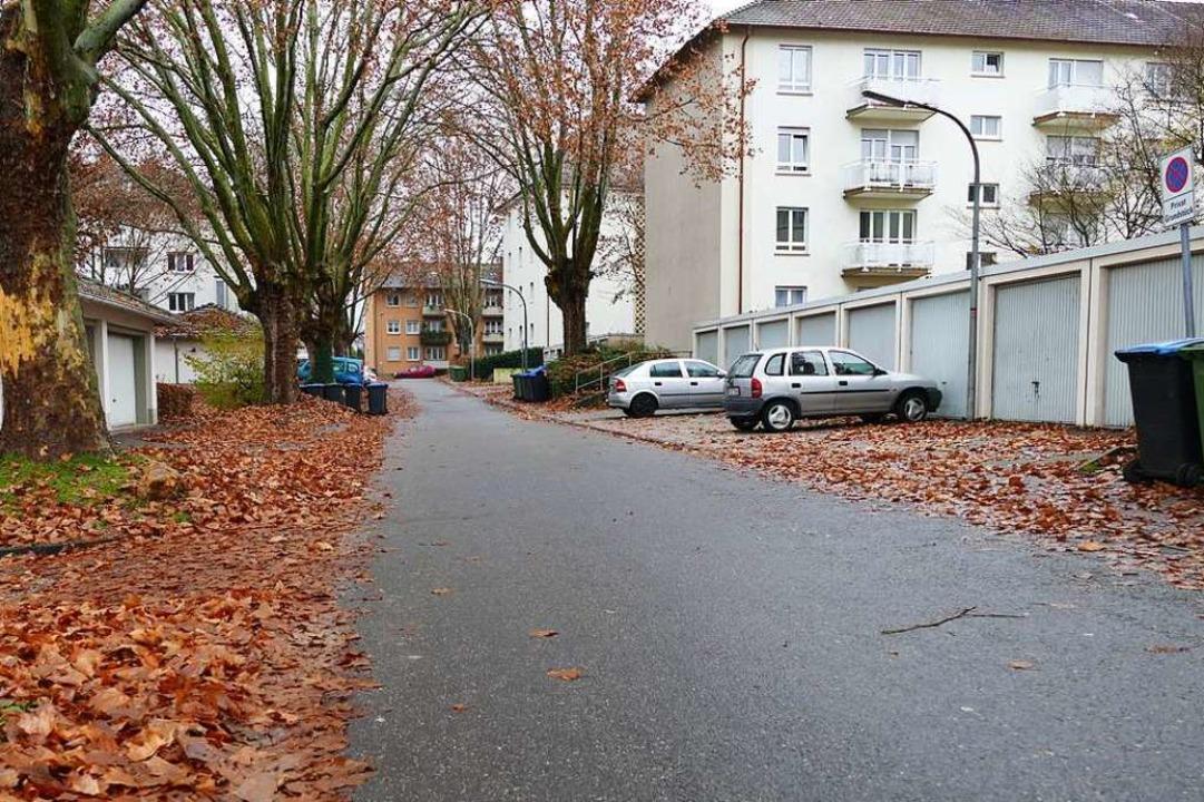 Stein des Anstoßes: Wo heute die Belch... , sollen  zwei Wohngebäude entstehen.  | Foto: Benedikt Hecht