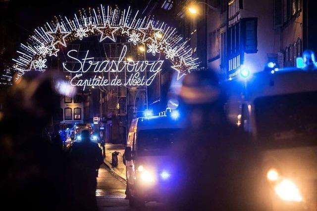 Terrorangriff auf den Straßburger Weihnachtsmarkt