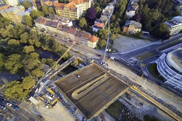 Fotos: Abgerissen und neu aufgebaut – die Verwandlung der Kronenbrücke
