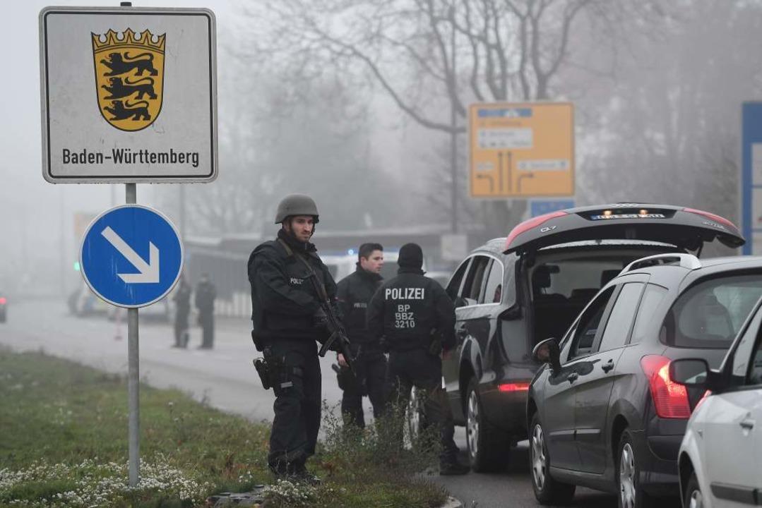 Kontrollen bei Kehl  | Foto: AFP