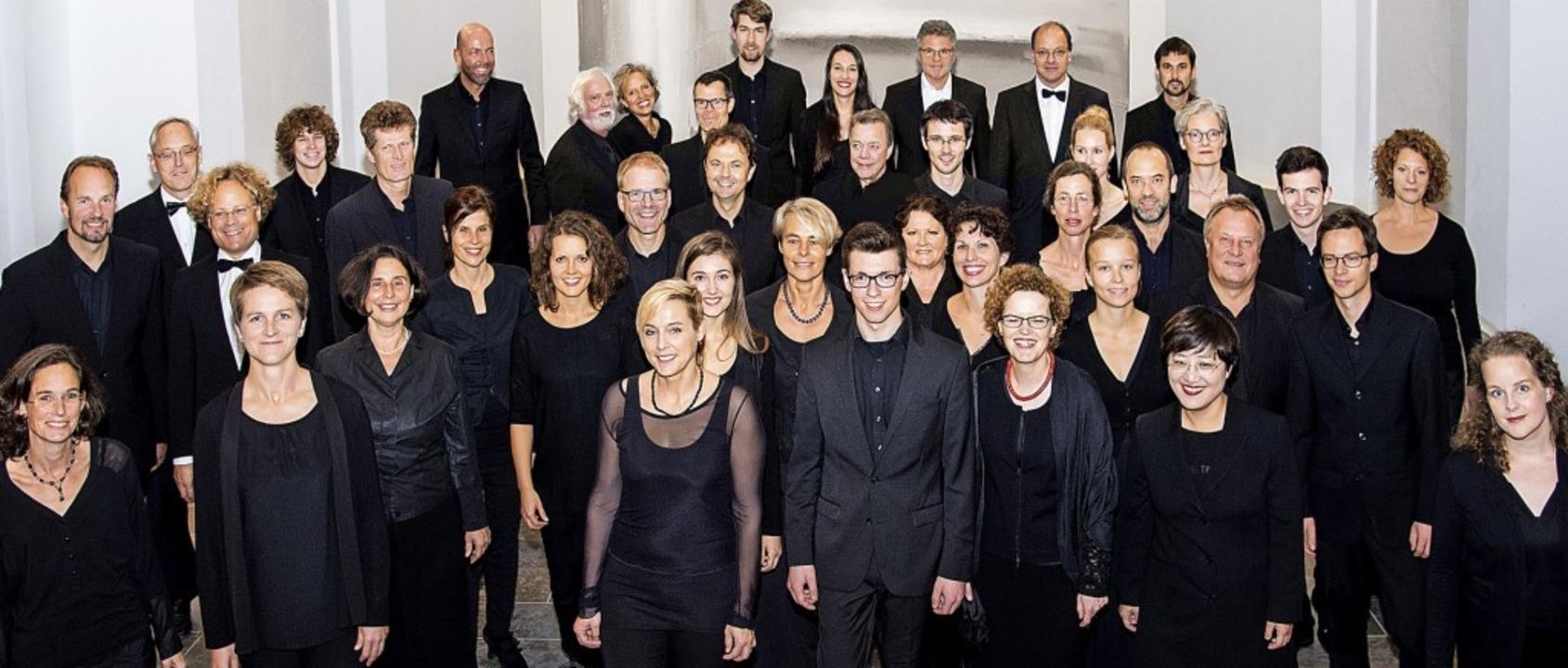 Immer wieder gern gehört: die Camerata Vocale Freiburg    Foto: Ellen Schmauss