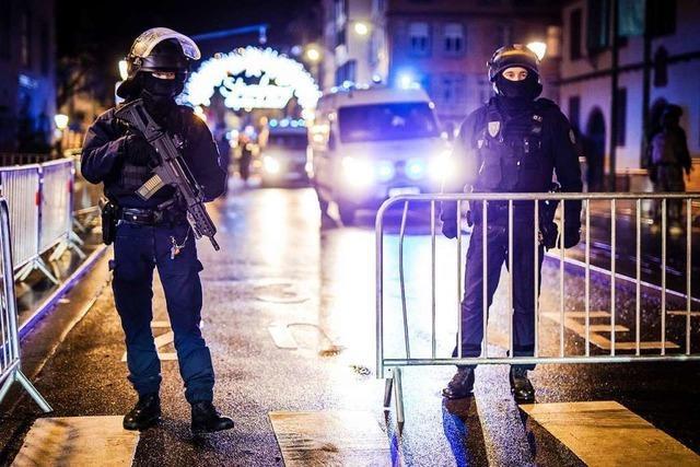 Video: So suchen Spezialeinheiten nach dem Attentäter von Straßburg