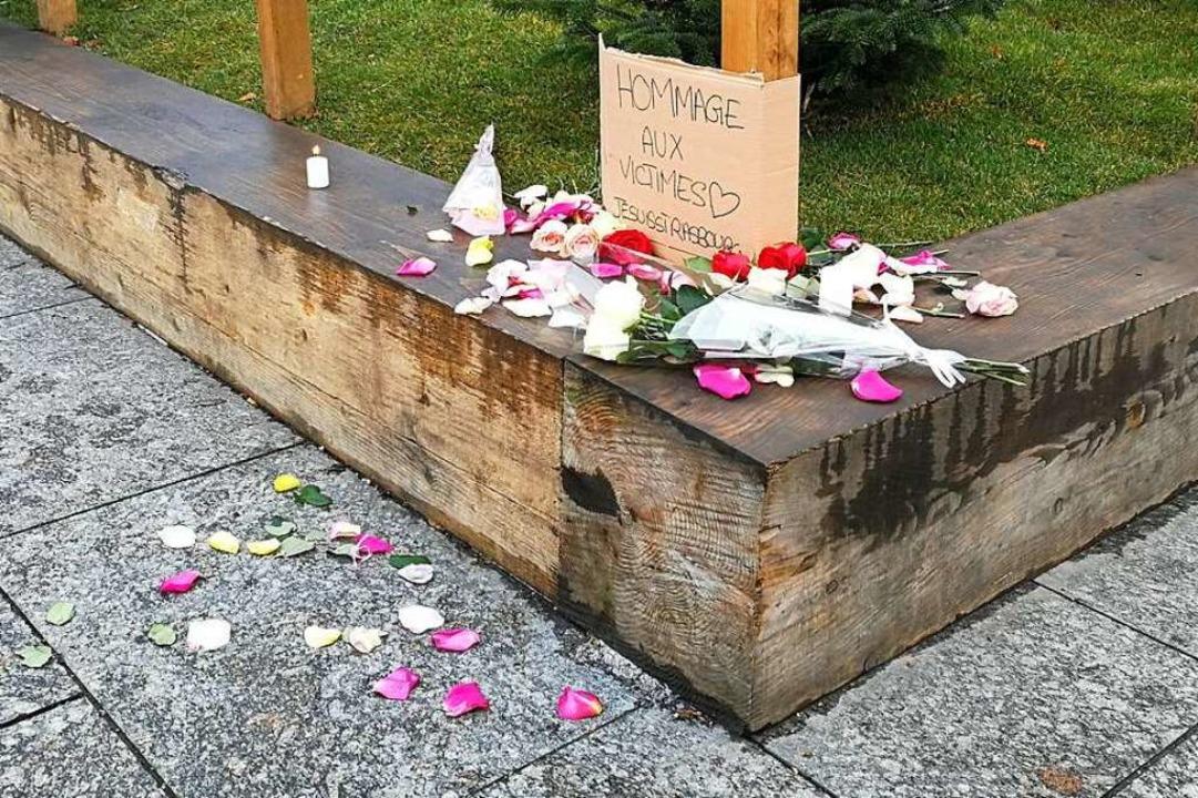 Das Gedenken an die Opfer beginnt.  | Foto: Anika Maldacker