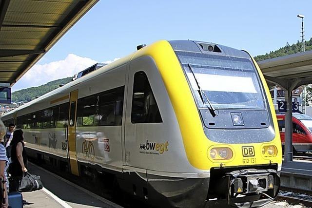 Hochrheinbahn ist weiter eine Problembahn