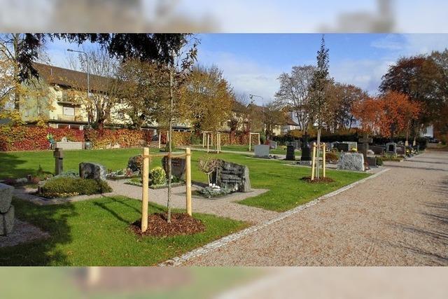 Friedhofsgebühren steigen