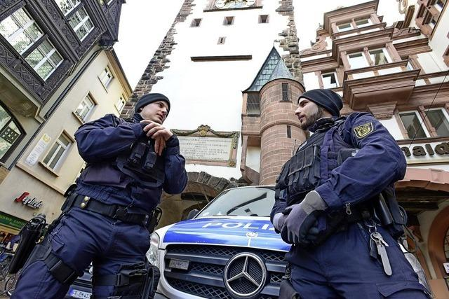Polizei erhöht Präsenz in der Altstadt