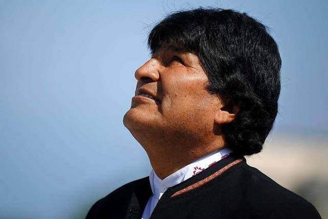 Boliviens Präsident Morales hält sich für unersetzlich und pfeift auf die Verfassung
