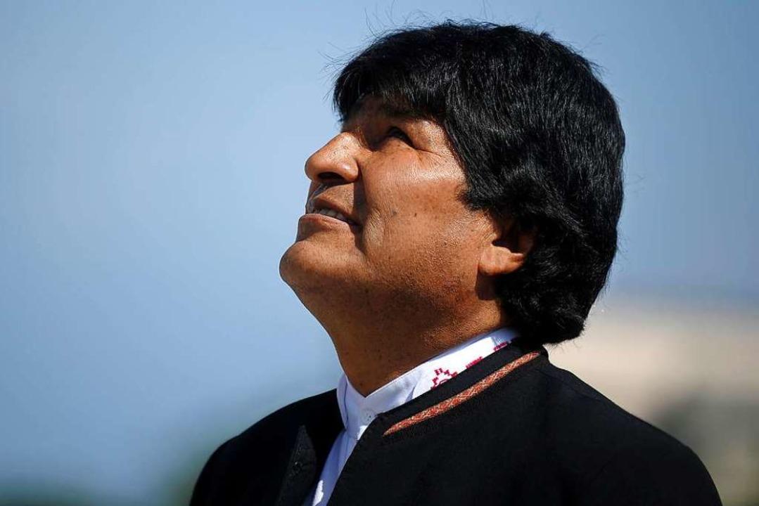 Evo Morales     Foto: dpa