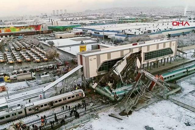 Tote bei Zugunglück in Ankara - auch deutsches Opfer