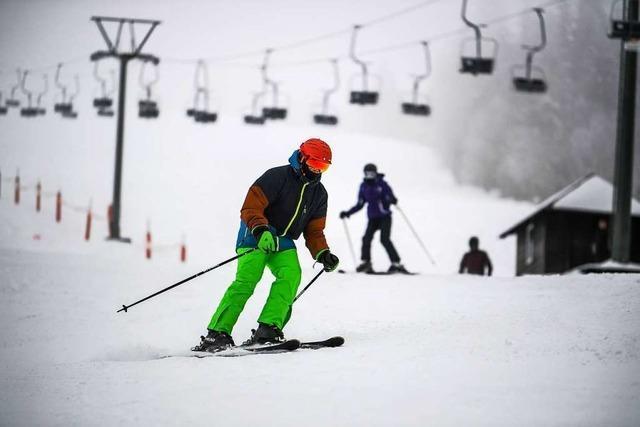 Wie war's … beim Start der Skisaison auf dem Feldberg?