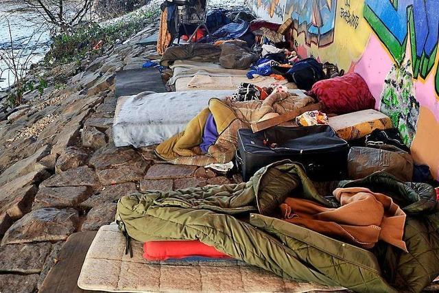 Wohnsitzlose wollen auch im Winter draußen schlafen – trotz freier Plätze in der Notschlafstelle