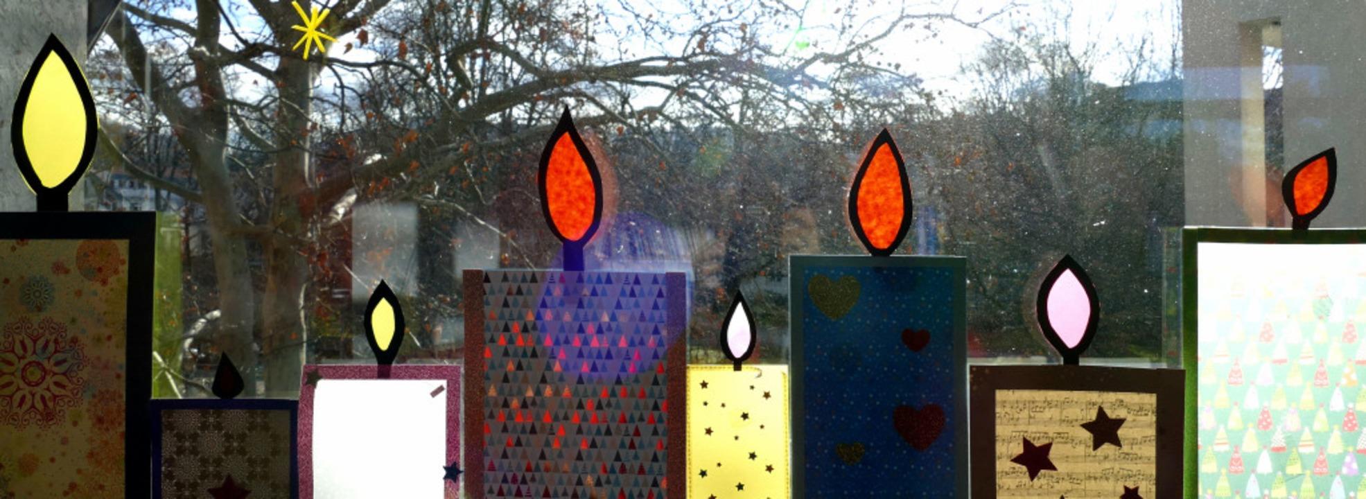 Fensterschmuck  auf der Kinderkrebsstation  | Foto: Sonja Zellmann