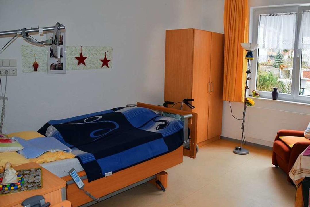 Nach dem Umbau soll es im Pflegeheim Todtnau fast nur noch Einzelzimmer geben.    Foto: Ulrike Jäger
