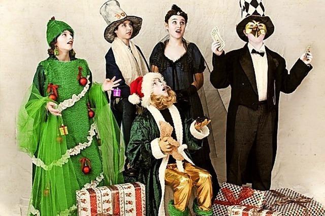 A Christmas Carol in St. Blasien