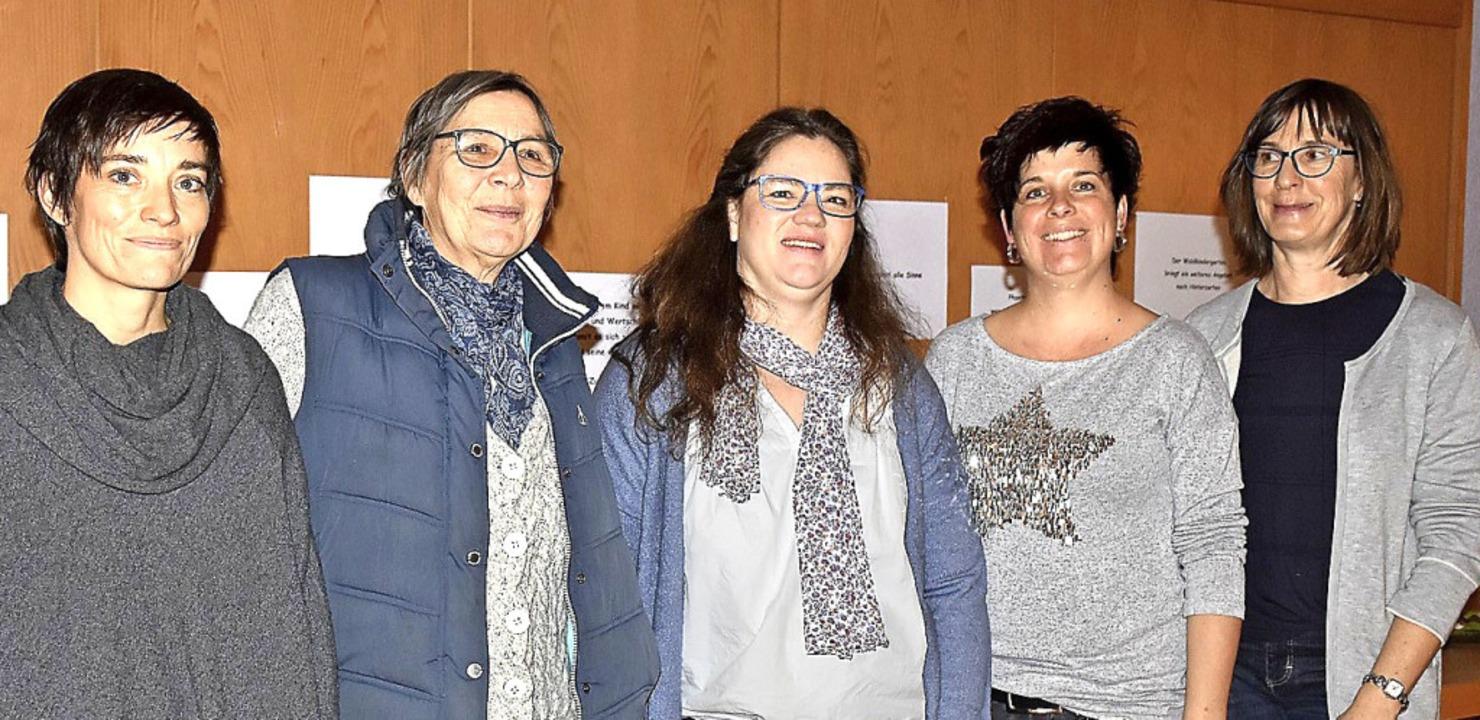 Stellten das Konzept vor (von links): ...ler, Bianca Fischer und Lucia Knöpfle   | Foto: T. Biniossek