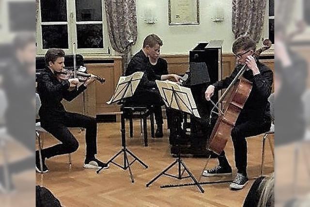 Lahrer Trio begeistert