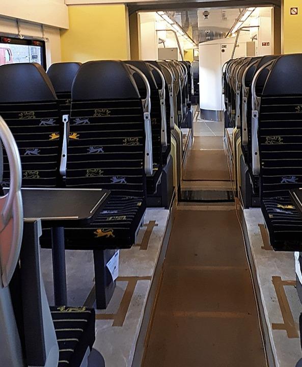 Ein Blick ins Innere der neuen Züge  | Foto: deusche  bahn