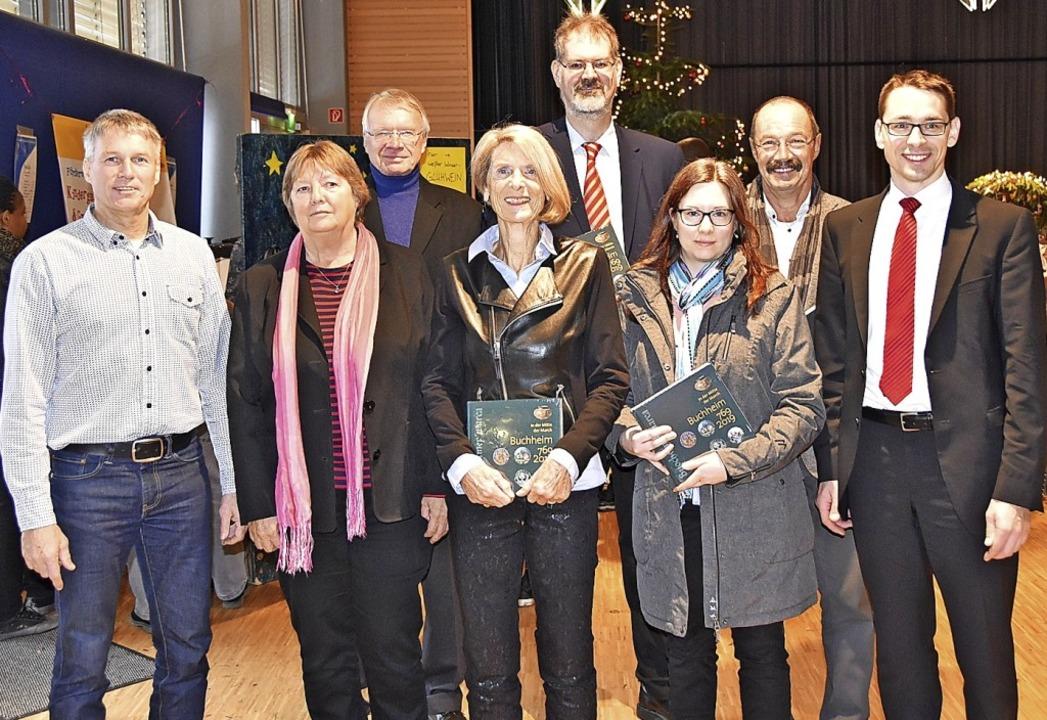 Das Autorenteam der Bucheimer Ortschronik  | Foto: Manfred Frietsch