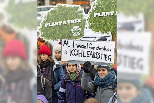 Schülerdemo für den Klimaschutz
