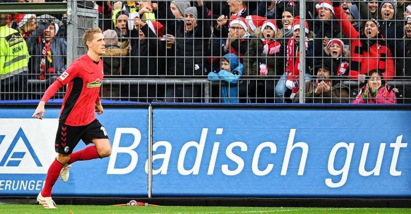 Nils Petersen steht kurz davor, bester...-Torschütze des Sport-Clubs zu werden.  | Foto: dpa