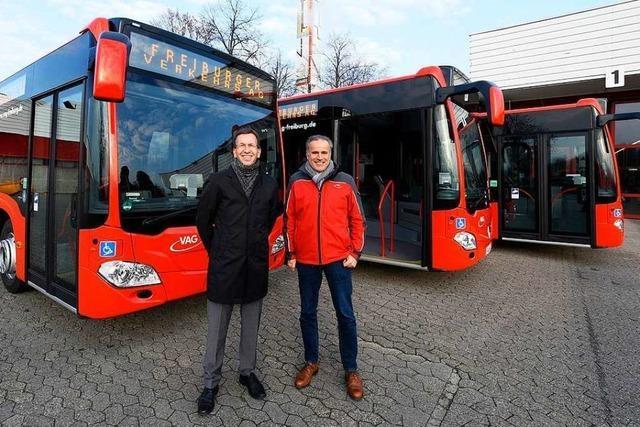 Freiburger VAG schafft drei neue Diesel-Busse an