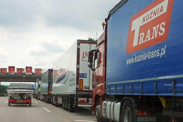 Tödlicher Unfall am Samstagabend auf der A5 bei Weil am Rhein