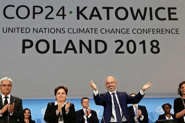 UN-Gipfel billigt Regelwerk zum Klimaschutz - Mehr Ehrgeiz angemahnt