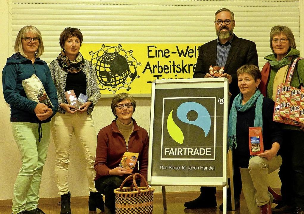 Der Arbeitskreis mit (von links) Ankic...l Kefer, Birgit Trapp und Ursula Kern.    Foto: Ute Schöler