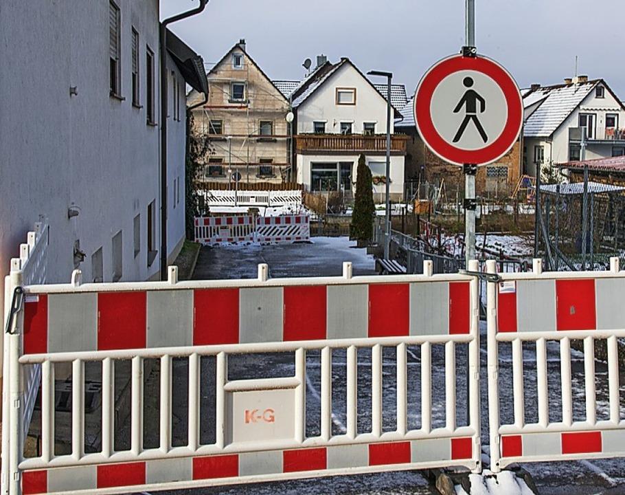 Die Quellrainbrücke in Kappel wird saniert.    Foto: Olaf Michel