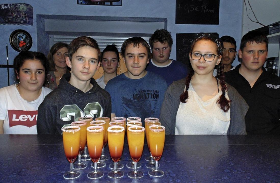 Zum Jahresabschluss im Kinder- und Jug...er Gewerbeschule für Speis und Trank.     Foto: Michael Gottstein