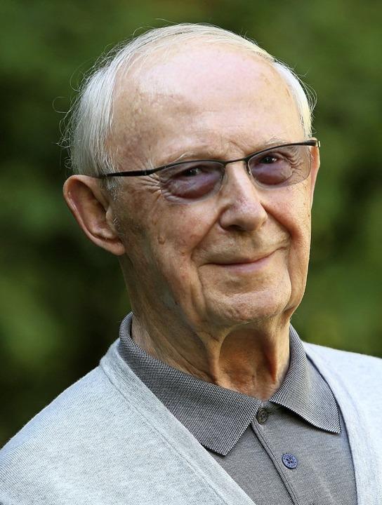 Im Alter  von 89 Jahren gestorben: Dieter Herberg   | Foto: Archivfoto: Breithaupt