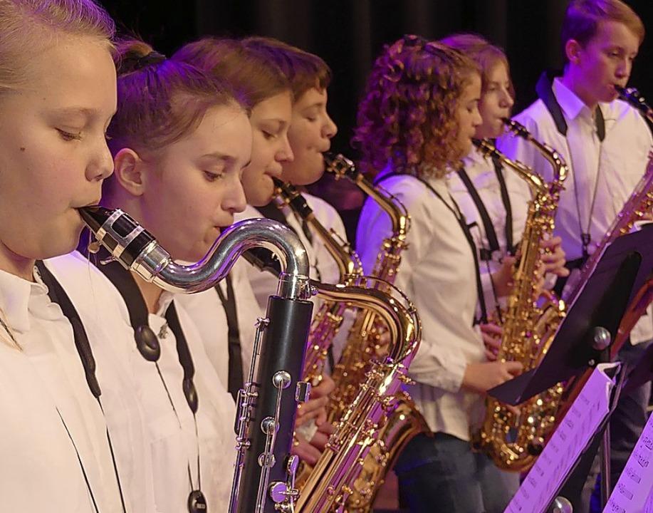 Winterkonzert der Bläserklassen der Heimschule St. Landolin  | Foto: Thomas Dees