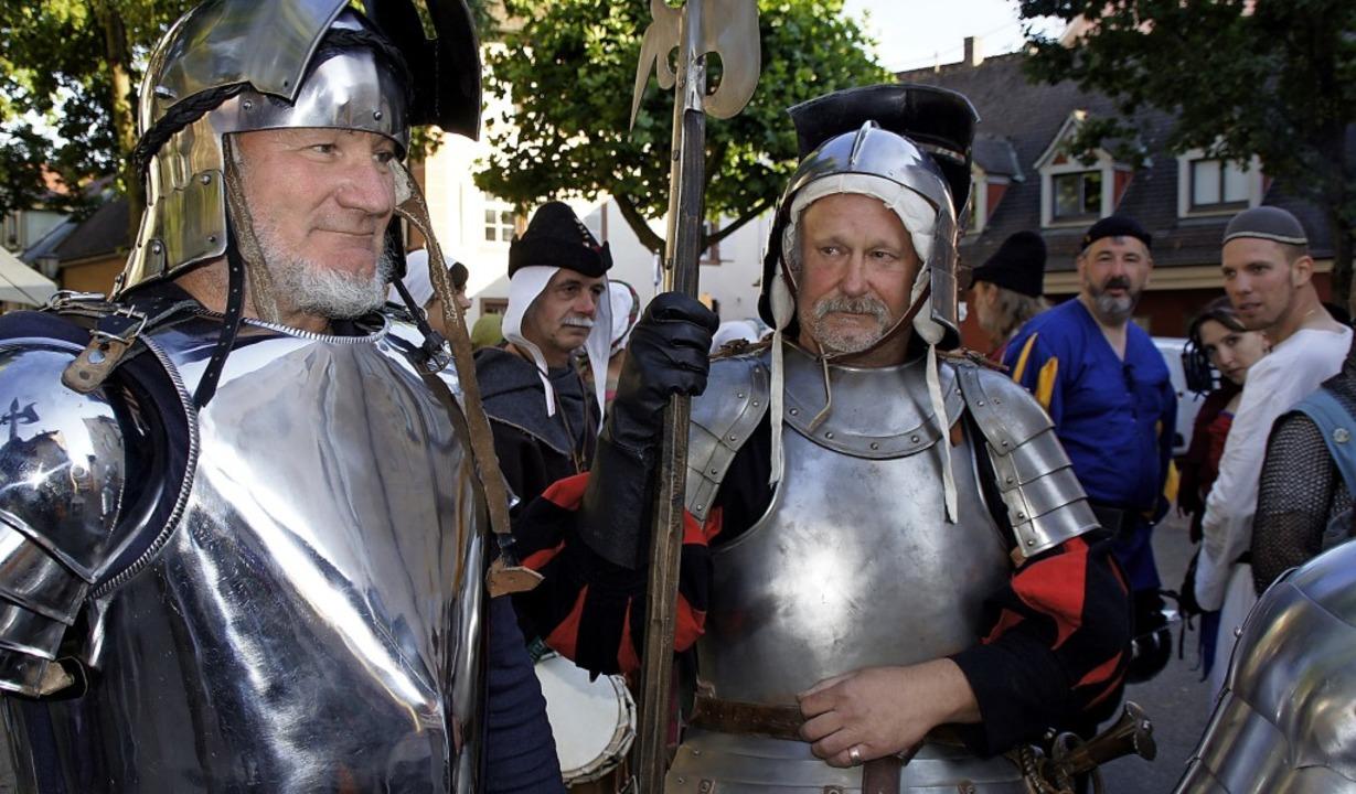 Das historische Stadtfest ist ein Publ...t – verursacht aber auch Kosten.  | Foto: Archivfoto: Ilona Hüge