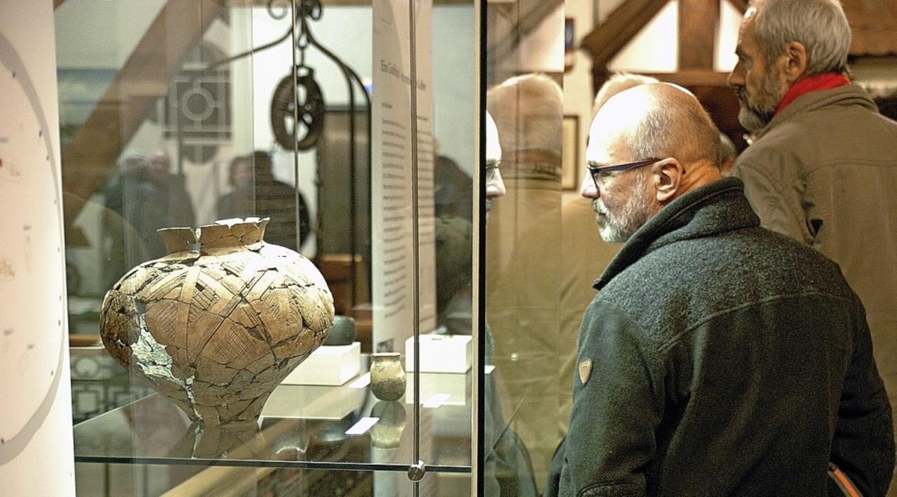 Die Fundstücke sind mehr als 2500 Jahre alt.   | Foto: Jürgen Schweizer