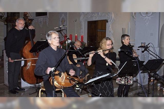 Musiker nehmen Publikum mit auf Reise ins Licht