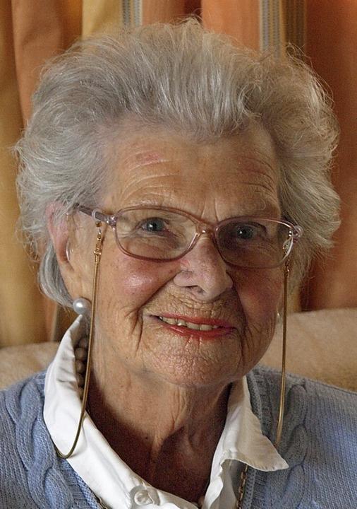 Woizlawa-Feodora Prinzessin Reuß wird ...heit und bester Stimmung 100 Jahre alt  | Foto: Karin Stöckl-Steinebrunner