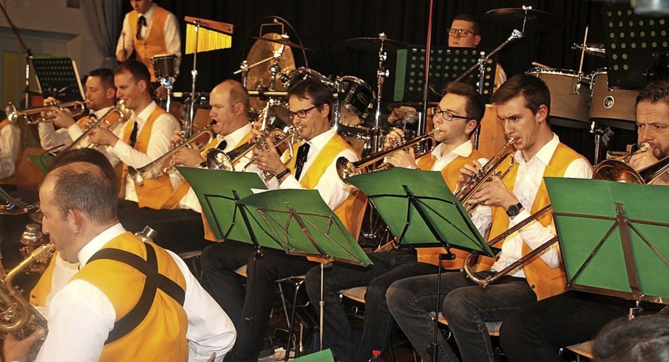 Ein vielfältiges Konzert spielte der Musikverein Meißenheim.     Foto: Hans Spengler