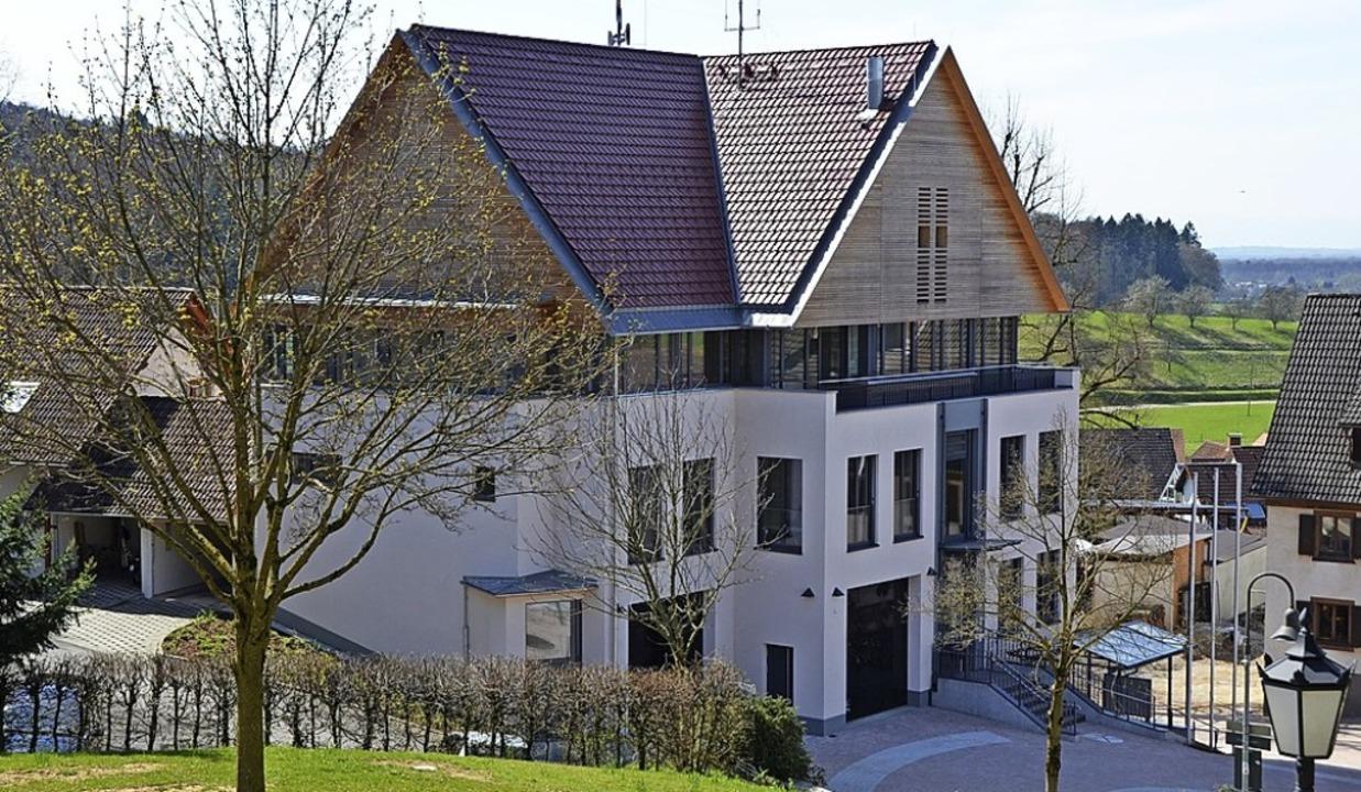 Das Rathaus in Heuweiler ist eine Anlaufstelle für die Bürger.   | Foto: Max Schuler