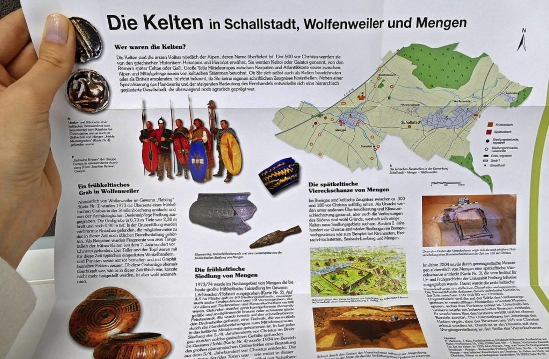 Blick in Schallstadts Geschichte  | Foto: Nikola Vogt