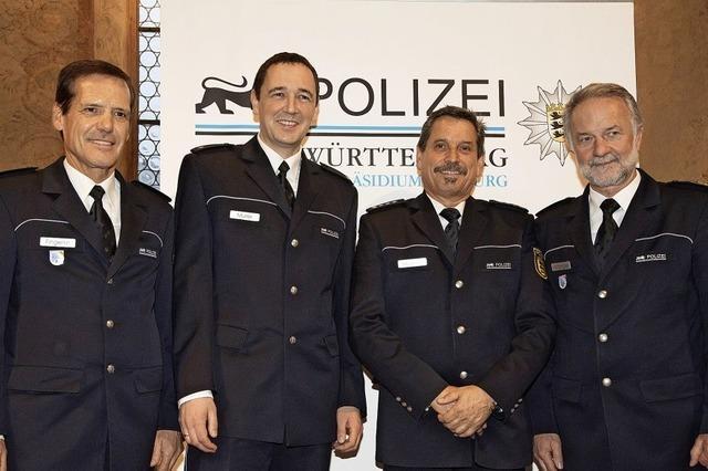 Führungswechsel auf dem Polizeirevier