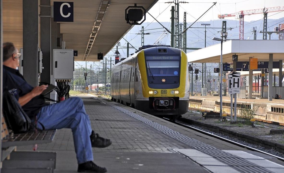 Die Diesel-Triebwagen der Reihe &#8222...n-Bahn immer wieder für Diskussionen.   | Foto: Gramespacher