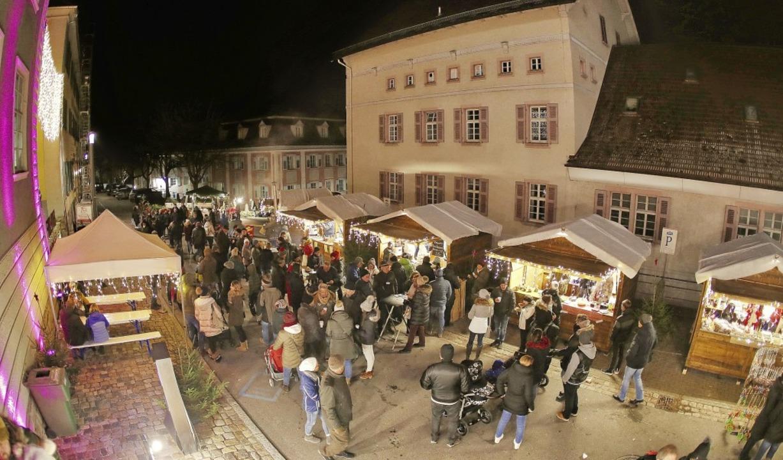 Da kam vorweihnachtliche Stimmung auf:...n Donaueschingen besonders viel Spaß.     Foto: Müller