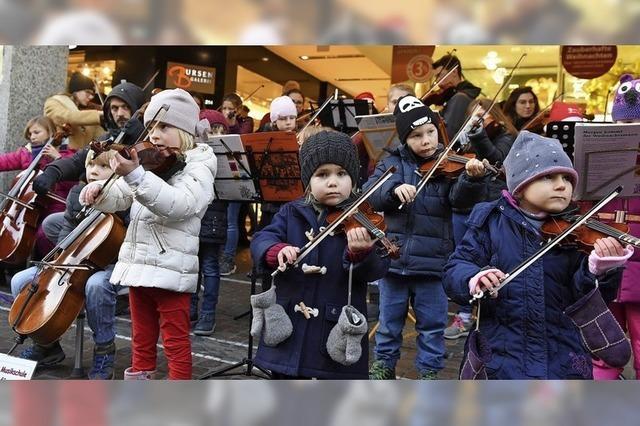 Weihnachtskonzert der Oberlin-Musikschule