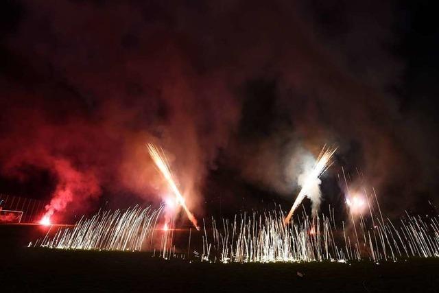 Test-Feuerwerk in Freiburg: Wenn Silvester vor Weihnachten kommt