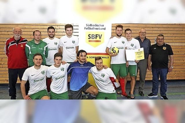 FC Brigachtal gewinnt souverän den Futsal-Titel