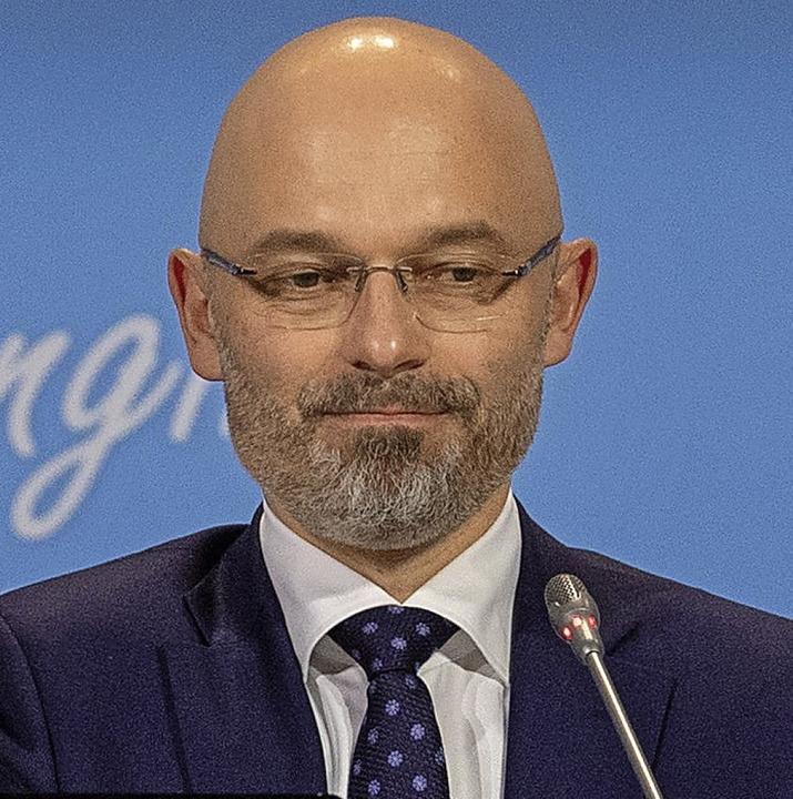 Michal Kurtyka, Präsident der UN-Klimakonferenz    Foto: dpa