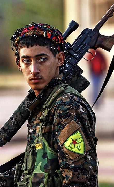 Kämpfer der YPG   | Foto: AFP