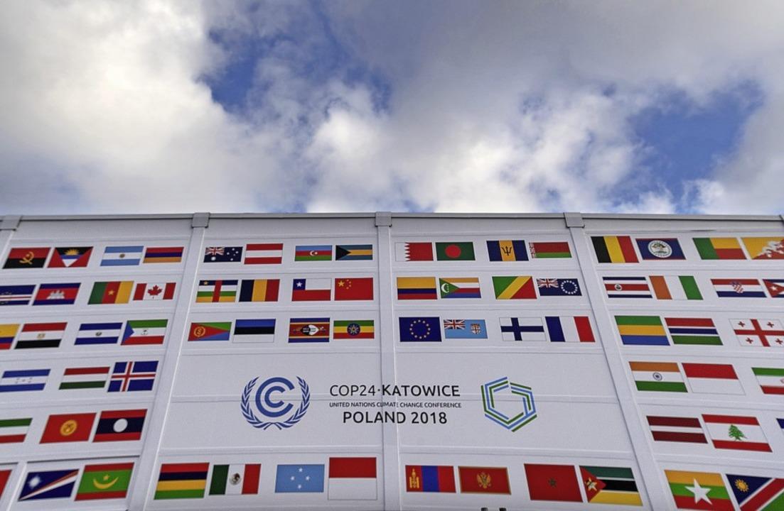 Gipfel für den Klimaschutz: Im polnisc...h die Vertreter von fast 200 Nationen.    Foto: dpa